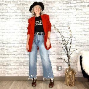 Vintage Wool & Cashmere Oversized Boyfriend Blazer
